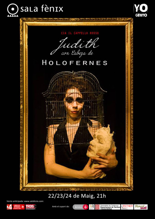 CARTEL Judith con cabeza de Holofernes2