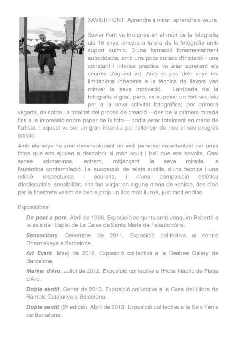 Presentació Xavier Font - Sincronia 2015