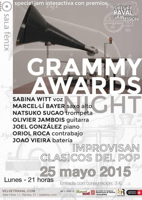 Velvet Raval Jam Session - grammy awards night
