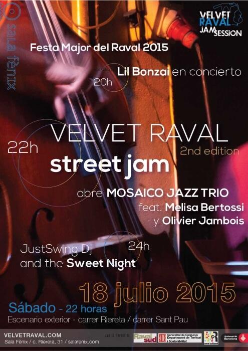 Velvet Raval Jam Session - julio 2015