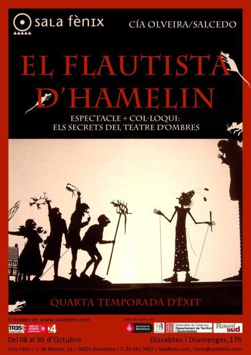 cartel EL FLAUTISTA D'HAMELIN2