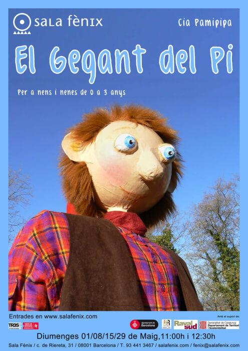cartel EL GEGANT DEL PI