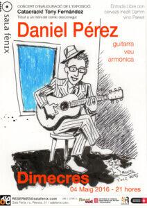 Concert de Daniel Pérez