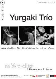 cartel concierto yurgaki