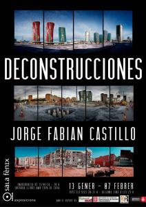cartel decostrucciones