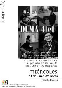 Duma Jazz 4tet cartel
