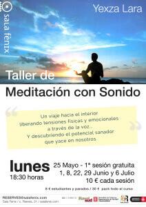 Taller de Meditación con Sonido