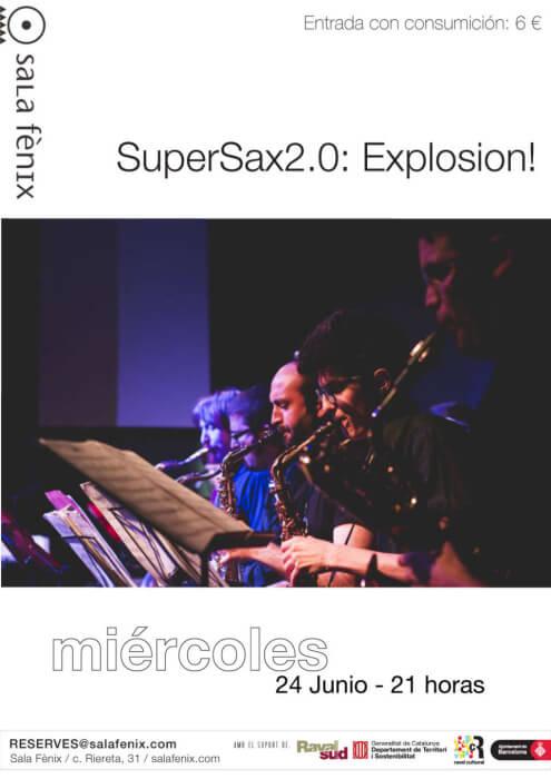 cartel super sax 2.0 explosion