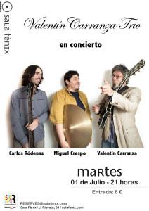 Valentín Carranza Trio