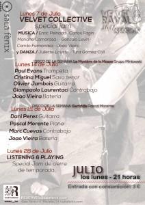 Velvet Raval Jam Session - Julio