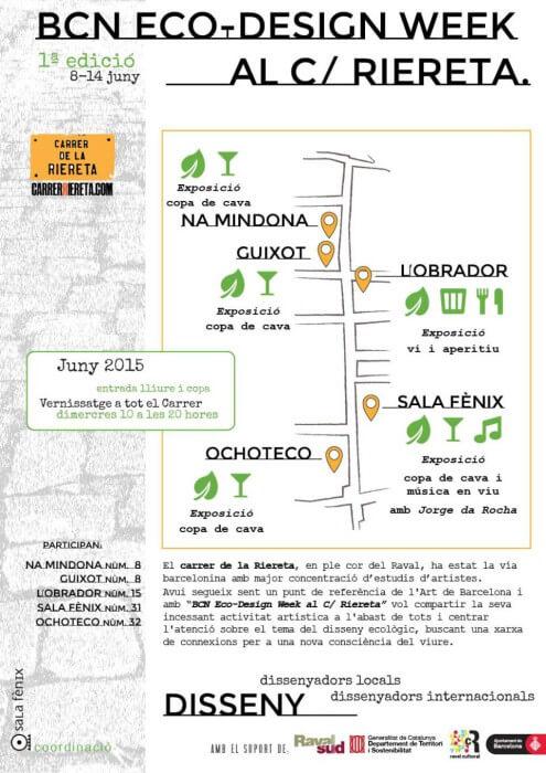 BCN Eco-Design Week al c/ Riereta