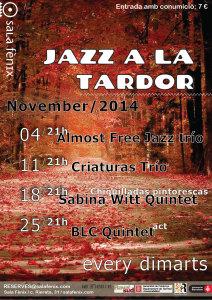 Jazz a la tardor - noviembre