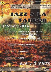 Jazz a la tardor - octubre