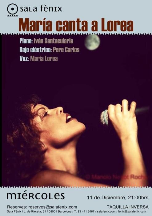 Maria canta a Lorena