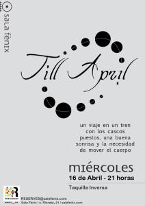 Till April
