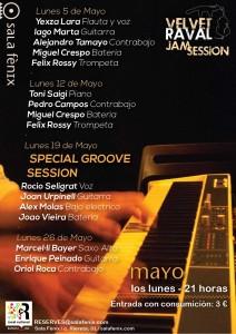 Velvet Raval Jam Session - Mayo